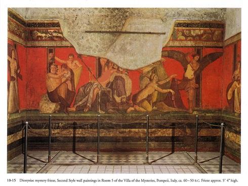 نقاشى و پيكرتراشى روم باستان
