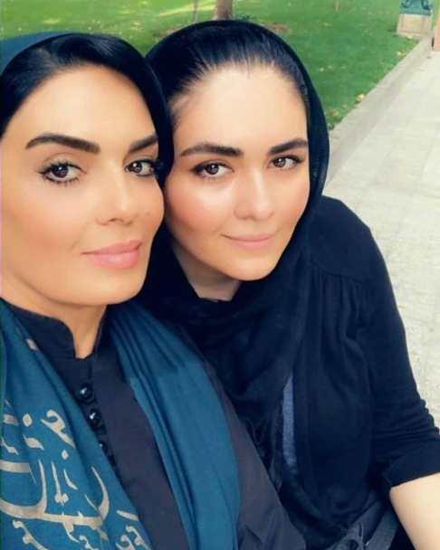 عکس سارا خوئینی ها و دخترش