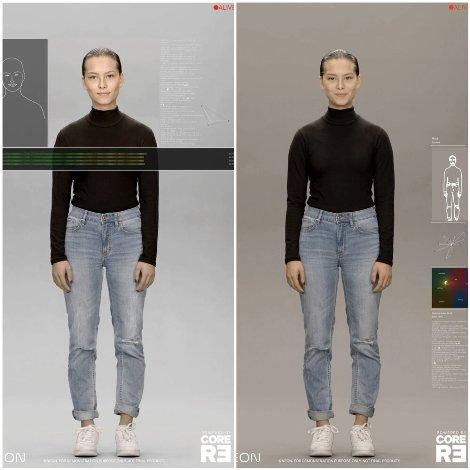 نمونه انسان مصنوعی تولید شده توسط سامسونگ