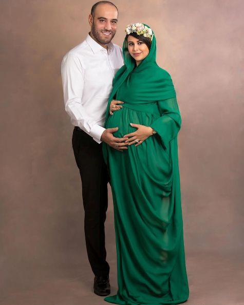 عکس یاسمین باهر و همسرش امیریل ارجمند