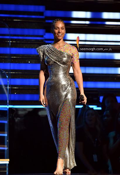 مدل لباس در جوایز گرمی 2020,بهترین مدل لباس در جوایز گرمی 2020,مدل لباس آلیسیا کی Alicia Keys در جایزه گرمی 2020 Grammy Awards