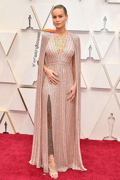 مدل لباس های برتر در اسکار 2020 Oscar بری لارسون Brie Larson,مدل لباس,مدل لباس در اسکار2020, بهترین مدل لباس در اسکار,بهترین مدل لباس در اسکار 2020