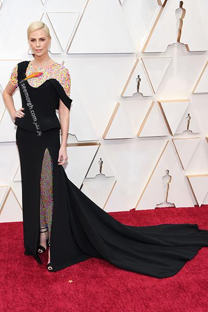 مدل لباس های برتر در اسکار 2020 Oscar شارلیز ترون Charlize Theron,مدل لباس,مدل لباس در اسکار2020, بهترین مدل لباس در اسکار,بهترین مدل لباس در اسکار 2020