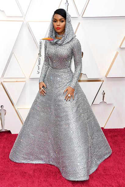 مدل لباس های برتر در اسکار 2020 Oscar جانل مونایی Janelle Monáe,مدل لباس,مدل لباس در اسکار2020, بهترین مدل لباس در اسکار,بهترین مدل لباس در اسکار 2020
