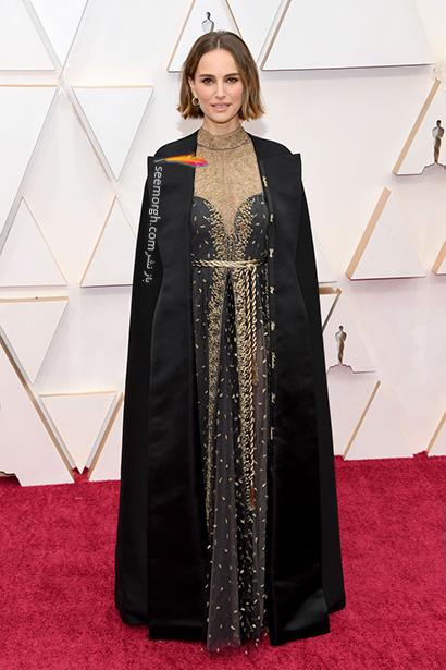 مدل لباس های برتر در اسکار 2020 Oscar ناتالی پورتمن Natalie Portman,مدل لباس,مدل لباس در اسکار2020, بهترین مدل لباس در اسکار,بهترین مدل لباس در اسکار 2020