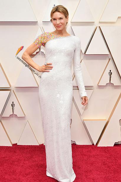 مدل لباس های برتر در اسکار 2020 Oscar رنی زلوگر Renée Zellweger,مدل لباس,مدل لباس در اسکار2020, بهترین مدل لباس در اسکار,بهترین مدل لباس در اسکار 2020