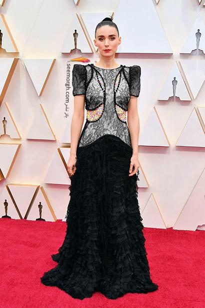 مدل لباس های برتر در اسکار 2020 Oscar رنی مارا Rooney Mara,مدل لباس,مدل لباس در اسکار2020, بهترین مدل لباس در اسکار,بهترین مدل لباس در اسکار 2020