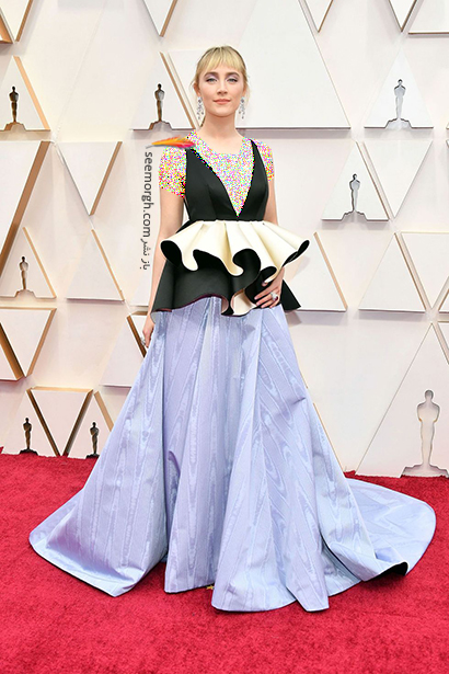 مدل لباس های برتر در اسکار 2020 Oscar سورشا رونان Saoirse Ronan,مدل لباس,مدل لباس در اسکار2020, بهترین مدل لباس در اسکار,بهترین مدل لباس در اسکار 2020