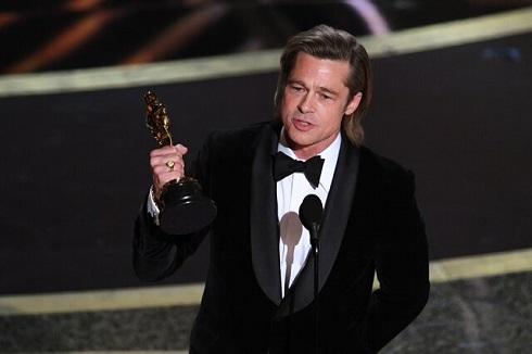 برد پیت Brad Pitt بهترین بازیگر مکمل مرد اسکار 2020
