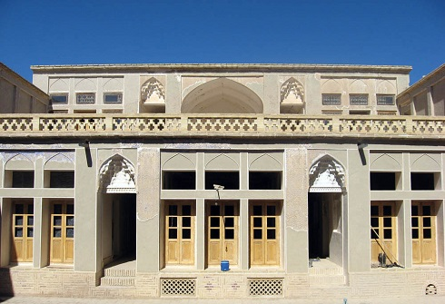 خانه تاریخی,معماری ایرانی,خانه فاطمی ها,عکس خانه تاریخی