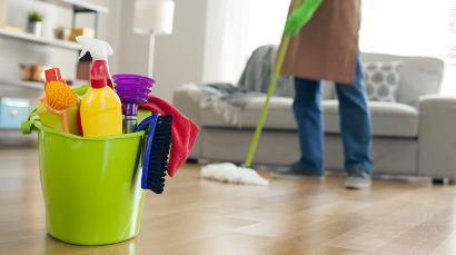 خانه تکانی سریع برای مردان و زنان شاغل