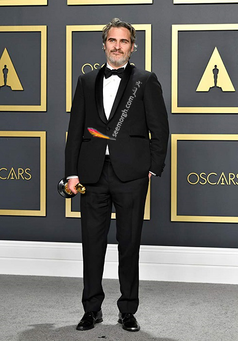 واکین فینیکس Joaquin Phoenix در مراسم اسکار oscars 2020
