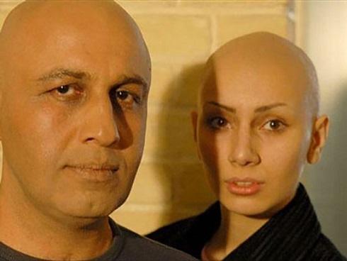 بازیگران زن کچل,مو تراشیدن زنان,بازیگران زن که مو تراشیدند