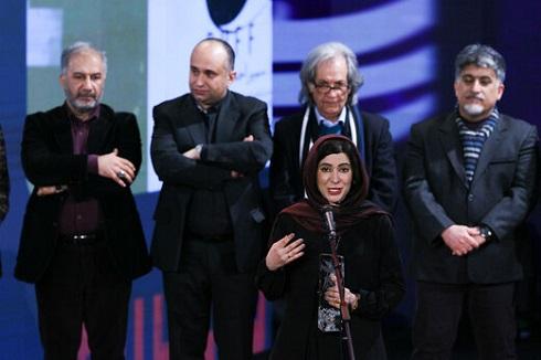 نازنین احمدی بهترین بازیگر زن جشنواره فجر 98