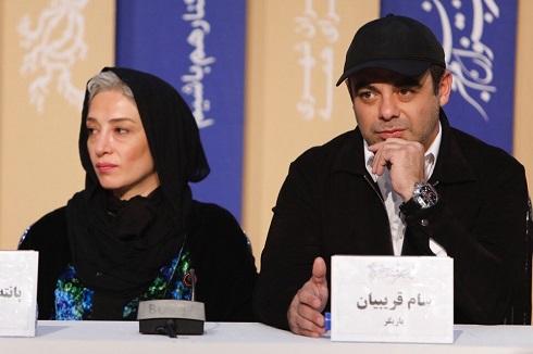 فیلم خروج حاتمی کیا,ابراهیم حاتمی کیا در جشنواره فجر,فرامرز قریبیان در جشنواره فجر,فیلم حاتمی کیا در جشنواره فجر