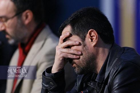 واکنش های عصبی شهاب حسینی در جشنواره