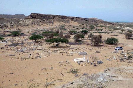 قبرستان جن در ایران,گورستان ترسناک در سیستان و بلوچستان,قبرستان رازآلود جن ها