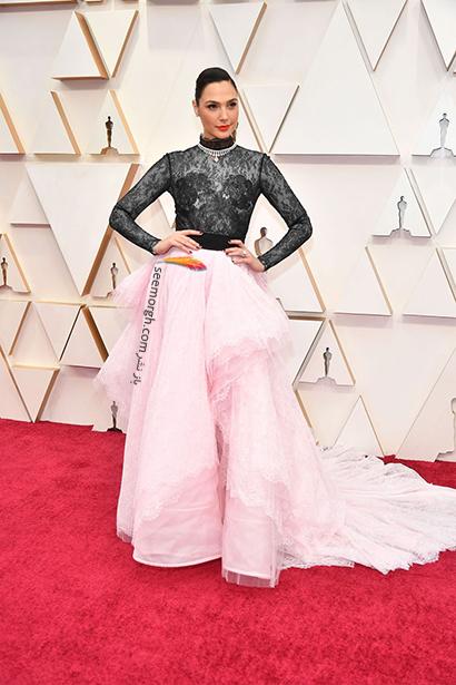 بدترین مدل لباس در مراسم اسکار 2020 Oscar گال گدوت Gal Gadot,بدترین مدل لباس,بدترین مدل لباس در اسکار 2020,مدل لباس در اسکار 2020