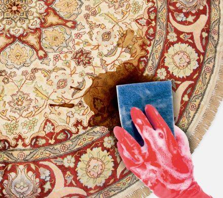 لکه های مختلف فرش را چگونه پاک کنم؟