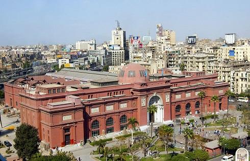مرور عصر فراعنه در یکی از موزههای مصر