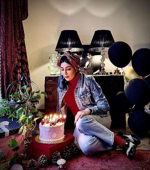 عکس تولد مریم معصومی