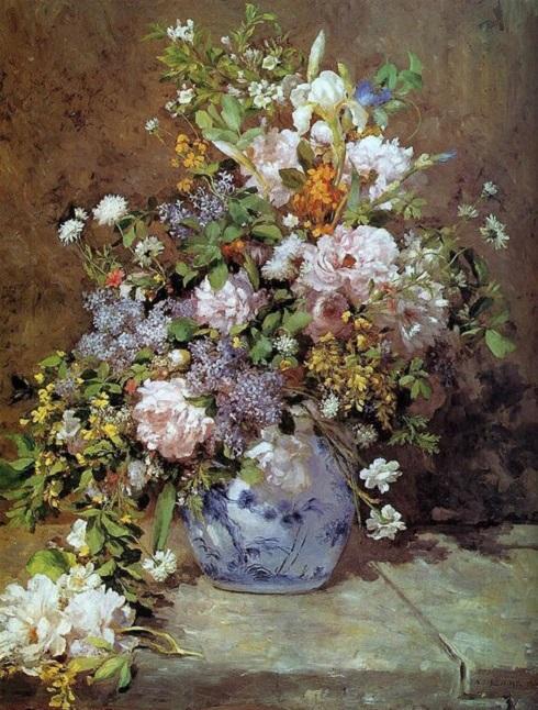 آثار نقاشان بزرگ برای بهار,بهار در آثار نقاشان بزرگ,آثار بزرگ نقاشی با موضوع بهار