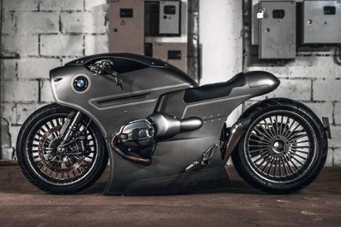 موتورسیکت طراحی شده برروی موتور BMW