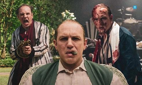 """تام هاردی در فیلم گانگستری """"کاپون"""""""