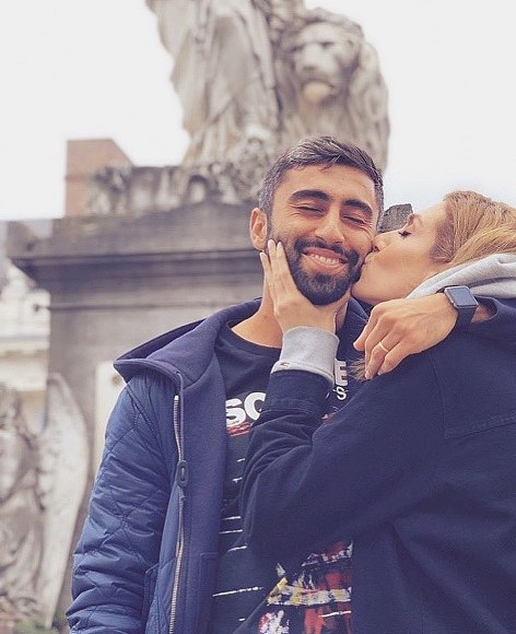 عکس جدید کاوه رضایی و همسرش فرنوش شیخی