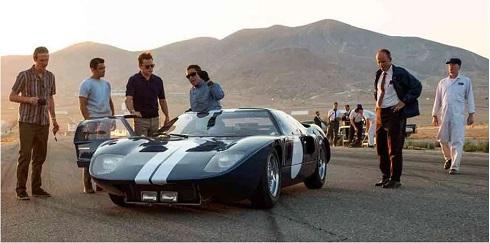 اتومبیل فورد جی تی در فیلم فورد در برابر فراری