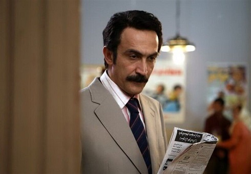 هادی حجازی فر در نقش برادر فری سریال زیرخاکی