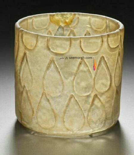 ظرف شیشه ای قرن سوم و چهارم