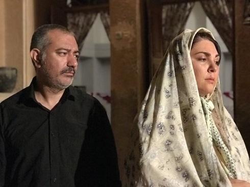 لاله اسکندری و محمدرضا هدایتی در فیلم سیمین