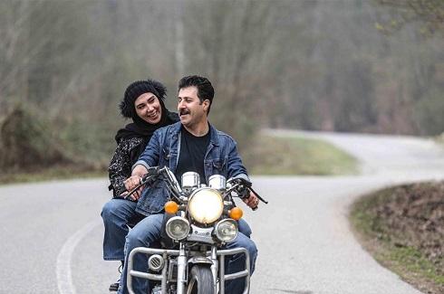 رحمت و زنش,موتورسواری رحمت و زنش,رحمت پایتخت,همسر رحمت پایتخت,بهروز وثوقی و گوگوش