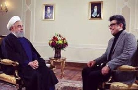 گفت و گوی رشیدپور با رئیس جمهور
