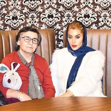 رضا رویگری و همسرش تارا کریمی