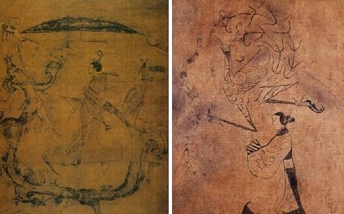 نقاشی روی ابریشم در چین