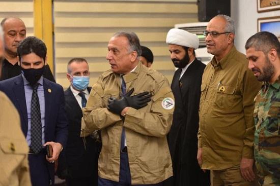 وقتی نخست وزیر عراق لباس حشد الشعبی را پوشید