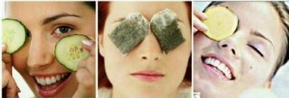 4 راه برای زیبایی چشمها ,چند روش برای برطرف كردن گودی و پف زیر چشم