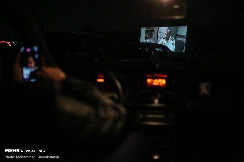 تجربه سینماماشین در پارکینگ برج میلاد