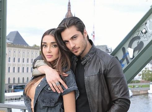 الناز گلرخ و همسرش حمید فدایی