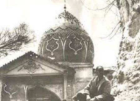تصویر قدیمی و کمیاب از امام زاده صالح تجریش