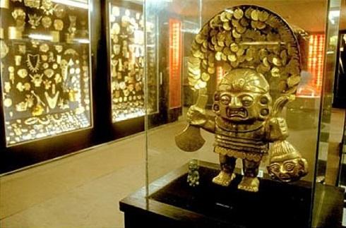 طلاهای باستانی در موزه طلا