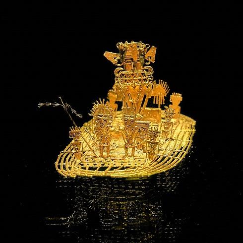 طلا در موزه ی دیدنی کلمبیا