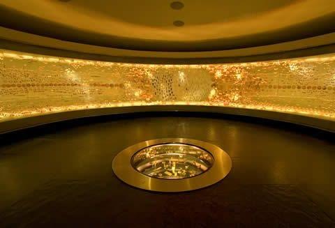 نمایی از موزه طلا در کلمبیا