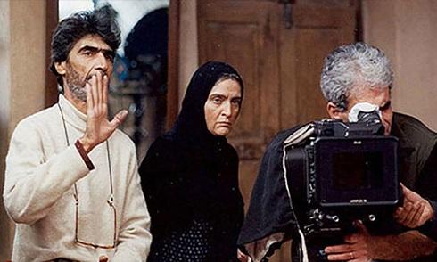 عکس ناصر تقوایی در پشت صحنه فیلم