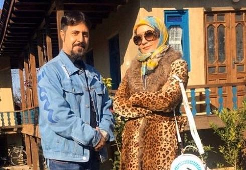 نسرین نصرتی و هومن حاجی عبدالهی در پایتخت 6