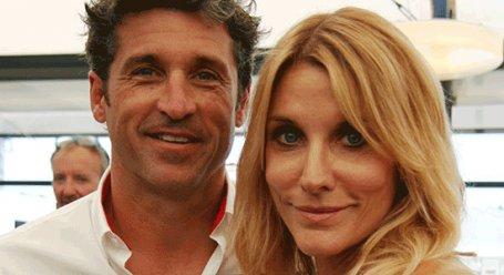 عکس پاتریک دمپسی و همسرش