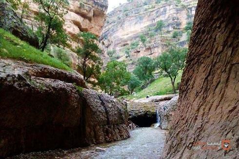 تنگه زیبای شیرز و غار پل خدا