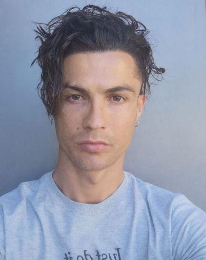 مدل موی جدید رونالدو